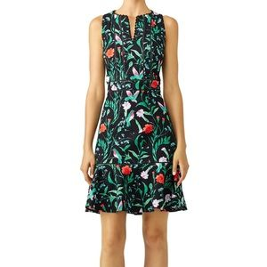Kate Spade JARDIN TILE JACQUARD Tropical Dress